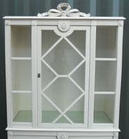 Painted China Display Cabinet